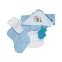 Kit Bebe Burbujas De 0 A 12 Meses-azul Accesorios Baby Mink