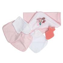 Kit Bebe Burbujas 0 A 12 Meses-rosa Accesorios Baby Mink