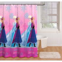 Cortinas Para Baño Infantil Disney Frozen