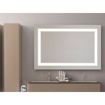 Espejo Maquillaje Con Marco De Luz Led Integrada 90x70cm