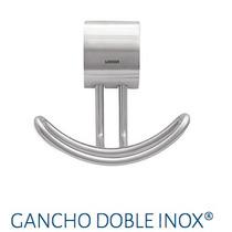 Accesorio Para Baño Gancho Doble Para Toalla Urrea 9906 Inox