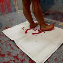 Toalla Sangrienta Sangre Muerte Manos Pies
