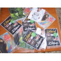 Calcomanias Y Revista Zildjian Z Time 08 / Stickers Original