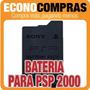 Bateria De 3.6v Para Psp Modelo 2000 100% Nueva