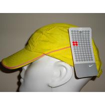 Gorra Nike 100% Original Dri-fit P/dama Amarilla Ajustable