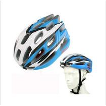 Casco Protector Para La Bici (azul)