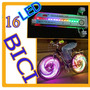Novedad Luz Rueda Bicicleta Tuning 32 Led Efectos Luz Hm4