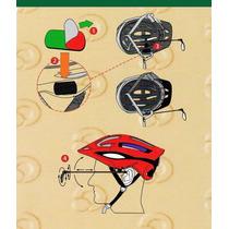 Espejo Retrovisor Se Adapta A Cualquier Casco Bicicleta