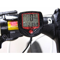 Odometro Velocimetro Lcd Para Bicicleta Varias Funciones