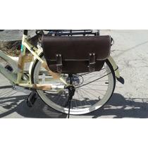 Alforja - Mariconera Vintage Desmontable Para Bicicleta