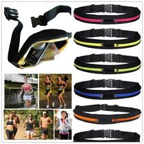Cangurera O Cinturon Para Correr, Ciclismo, Porta Celular