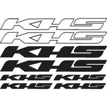 Jgo De 8 Calcomanias Para Bicicleta Khs