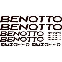 Jgo De 10 Calcomanias Para Bicicleta Benotto
