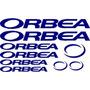 Jgo De 9 Calcomanias Para Bicicleta Orbea