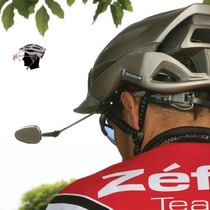 Espejo Zefal Z Eye Se Adapta A Cualquier Casco De Bicicleta