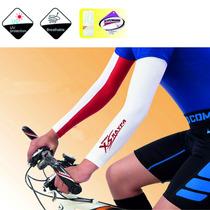 Mangas Protectoras Lisas Sol Ciclismo Bloqueador Uv