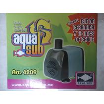 Bomba De Agua Sumergible 600l/h, 1.20m