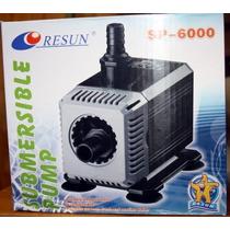 Bomba De Agua Sumergible Resun Sp-6000 2800l/h 2.5m