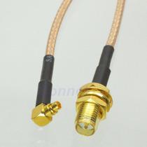 Cable Rp-sma Hembra Plug A Mmcx Macho Rg316 Pigtail 15 Cm