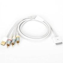 Vídeo Compuesto Av A Usb Cable Tv-rca Para Apple Ipad 1 Ipad