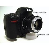 Anillo Inversor / Anillo De Reversa Para Canon O Nikon Macro