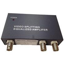 Amplificador De Video/ Entrada De Video Bnc/ 2 Salidas De Vi