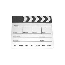 Clapboard Slate Pizarra Produccion Video Cavision Hm4