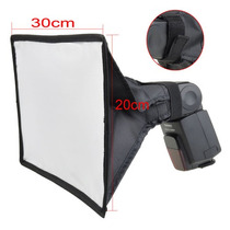 Difusor Soft Box Para Flash Externo 20 X 30cm