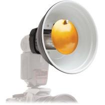 Mini Beauty Dish Para Flash Canon Nikon Olympus Sony Etc Mn4