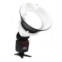 Mini Beauty Dish Para Flash Canon 430ex Speedlight Nuevo Mn4