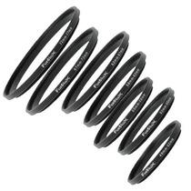 7-pack Anillo Aro Inversor Metal 49,52,55,58,62,67,72,77mm