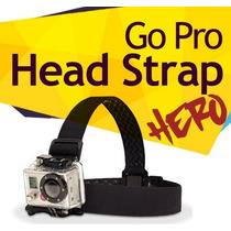 Gopro Head Strap Adaptador Montura Cabeza Go Pro Hero 3+ Vv4