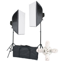 Kit Iluminacion Estudio De Fotografía Y Vídeo Digital Vv4
