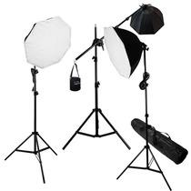 Kit Estudio Fotografico Video Studio Luz Continua Digital