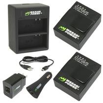 Baterias Para Cámaras Go Pro With Us Plug. Llévatelas!
