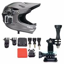Kit Accesorios Para Casco Camara Gopro Helmet Montaje 7 Pzas