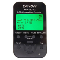 Controlador Inalambrico P Flash Ttl Yongnuo Yn-622c-tx Canon