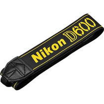 Nikon An-dc8 Replaza Tu Correa De Cuello Para D600 Dslr Nuev