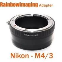 Adaptador Lentes Nikon A Micro 4/3 P/ Olympus Panasonic Mn4