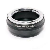 Adaptador Usar Lentes Konica Hexanon En Sony Nex3 Nex5 Mn4