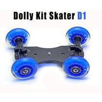 Dolly Skater Base Plataforma Rodante Para Camara Video Hm4