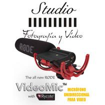 Microfono Videomic Rode Con Suspensión Rycot Lyre