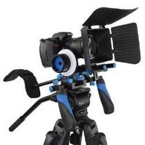 Rig Estabilizador Camara Dslr C Follow Focus Y Matte Box Hm4