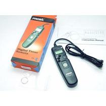 Cable Disparador Remoto Con Timer Prost C3 Canon 7d 5d Etc