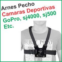 Arnes Para Pecho - Camaras Deportivas Gopro Sj4000 Sj5000
