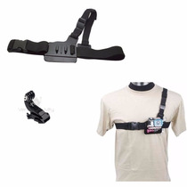 Gopro Pechera 3pts Pecho Chest Adaptador Accesorio Go Pro