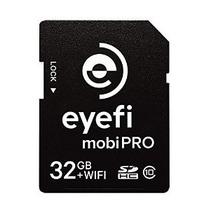 Eye-fi Mobi Pro 32gb Wifi Sdhc Card,1 Año Almacenamientonube