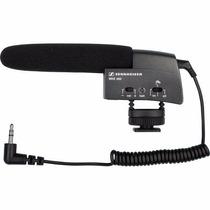 Sennheiser Microfono Compacto Shotgun Mke 400