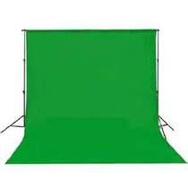 Fondo Verde Telon Estudio 3x3 Mt Fotografia Video Ciclorama
