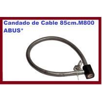 Candado De Cable 85cm.m800 Abus